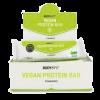 Doos van Body & Fit met Vegan Protein Bar Eiwitrepen, Smaak Strawberry, Inhoud 12 Repen (1 Doos)