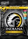 Zakje van Indiana Jerky met Chicken Jerky Beef Jerky - Inhoud 25 gram (1 zakje)